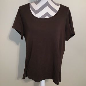 Chico's True Color Round Neck Tee.